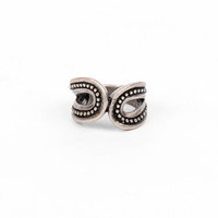 Paisley Ring in Antique Silver :: tobi