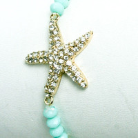 My Little Studded Starfish Bracelet