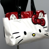 Hello Kitty White Face Shoulder Bag