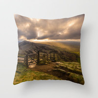 Hope Valley Throw Pillow by John Dunbar