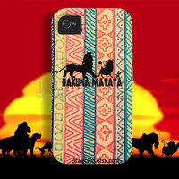 IPhone Case - lion king hakuna matata edition ver. 2
