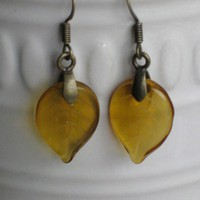 Autumn Leaf Earrings | ButtermilkSkyDesigns - Jewelry on ArtFire