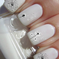 Dandelion Nail Decals