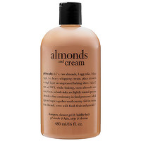 Philosophy Almonds And Cream Shampoo, Shower Gel & Bubble Bath : Shop Body Cleanser | Sephora