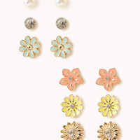 Fairytale Flowers Stud Set