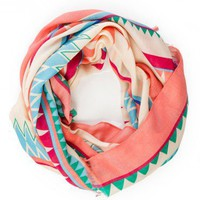 Imala Tribal Print Scarf - ShopSosie.com