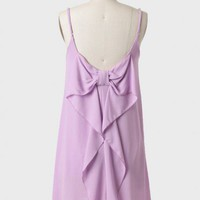 Lottie Bow Dress In Lavender at ShopRuche.com