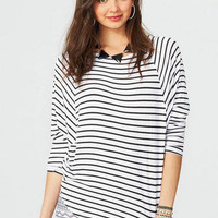 Long-Sleeve Stripe Tunic