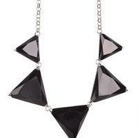 Luxe Triangle Necklace