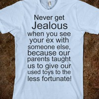 Jealous - ALLStopsLeadHere! - Skreened T-shirts, Organic Shirts, Hoodies, Kids Tees, Baby One-Pieces and Tote Bags