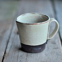 Rustic Handbuilt Mugs - Available in 4 Colors - MUG IS BACKORDERED
