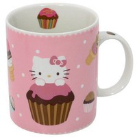 Hello Kitty Mug: Cupcake