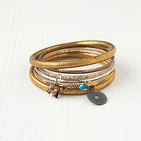 Charmed Hard Bangle Set at Free People Clothing Boutique