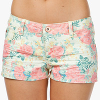 A'GACI Bright Calypso Floral Short - BOTTOMS