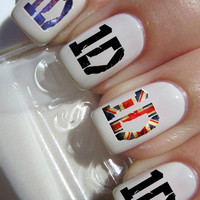 One Direction Nail Decals 42 per purchace