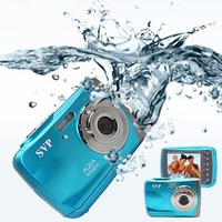 Waterproof ACQUA WP6800 ( Blue ) UnderWater Digital Camera Video recorder 18MP Max.