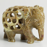 Soapstone Elephant | World Market