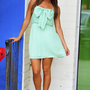 Bow For The Princess Dress: Mint | Hope's