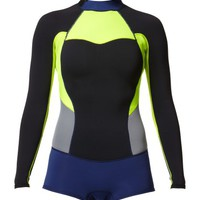High Seas Long Sleeve Spring Suit - Roxy