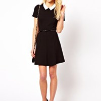 French Connection Mary Stretch Dress at asos.com
