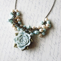 Back to Versailles - Marie Antoinette Necklace by dreamsbythesea