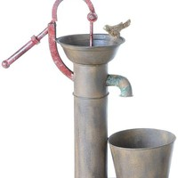 Water Pump Planter - Planter &amp; Plant Stands | HomeDecorators.com