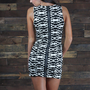 Caroline Tribal Dress