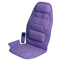 Comfort Products 10-Motor Massage Seat Cushion with Heat - Lavender