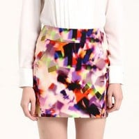 Fantasy Chiffon Mini Skirt
