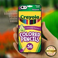 CRAYOLA Colored Pencils - Print on Hard Cover for iPhone 5
