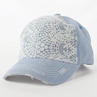 Lace Overlay Hat - Women&#x27;s Hats | Buckle