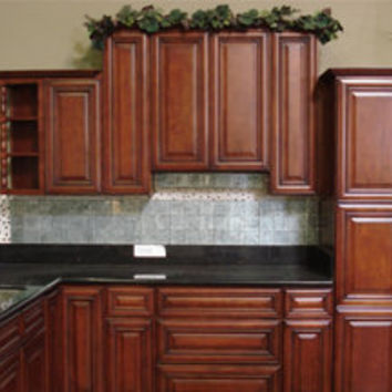 cherry rope cabinets kitchen cherry from