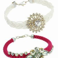Lipsy Jewel Bracelet Set