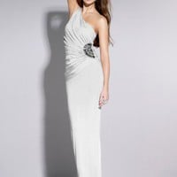 Lipsy Slinky Maxi Side Embellished Dress