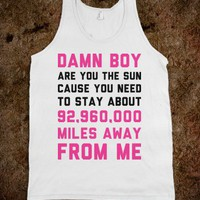 Miles Away from Me - Text Tees - Skreened T-shirts, Organic Shirts, Hoodies, Kids Tees, Baby One-Pieces and Tote Bags