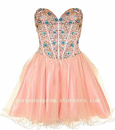 cute mini sapphire prom dresshomecoming from dresses2013 on