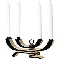 Nordic Light Candelabra in Black by Design House Stockholm