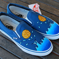 Custom Water Polo Vans shoes