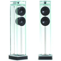 "Waterfall Audio ""Niagara"" Diamond Glass Floor Standing Loudspeakers"