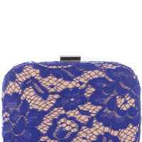 Rita Lace Hardcase Clutch