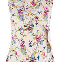 Oriental Birdcage Top