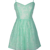 Mint Lace Skater. Follow for more :)