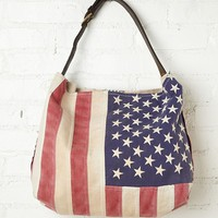 Free People Treasured Flag Tote