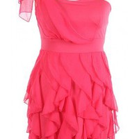 The Pink Ruffle Dress