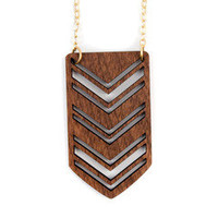 Joyo — Shield Necklace - Large
