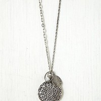 Free People Large Locket Pendant
