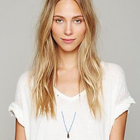 Free People Seedbead Layering Necklace