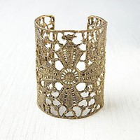 Free People Maltese Lace Cross Cuff