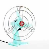 Vintage retro mint 60s fan by bjm rare italian