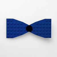 LOK'D Bowtie - Blue / Black